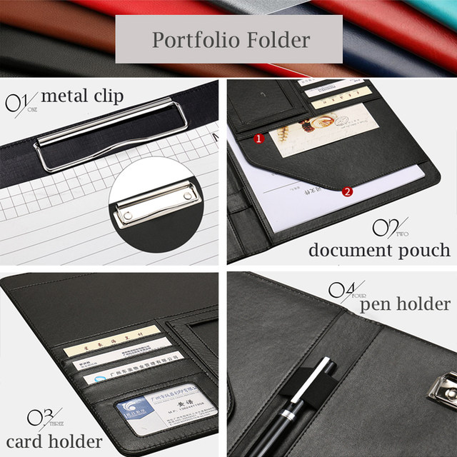 online shop hua jie a4 portfolio resume folder expanding document