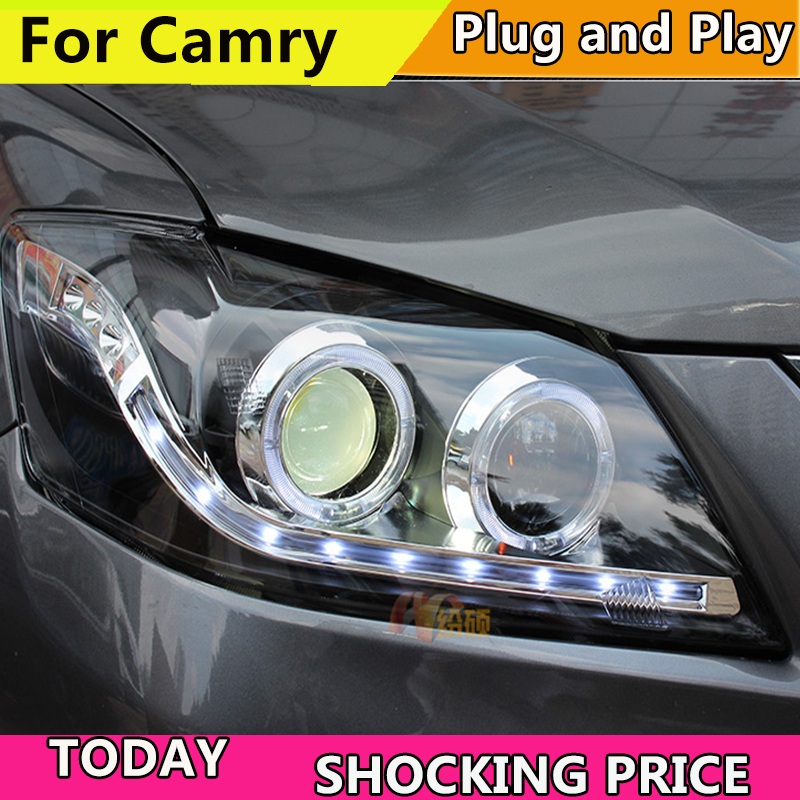 doxa Car Styling Head Lamp for Toyota Camry LED Headlight 2009 2011 Camry LED DRL Daytime