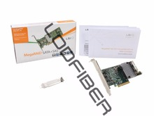 LODFIBER dla LSI Logic LSI00330 9271-8i MegaRAID SAS 8 Port 6 Gb/s PCI Express 3.0 1 GB DDR3 Pojedyncze Kontrolera karty