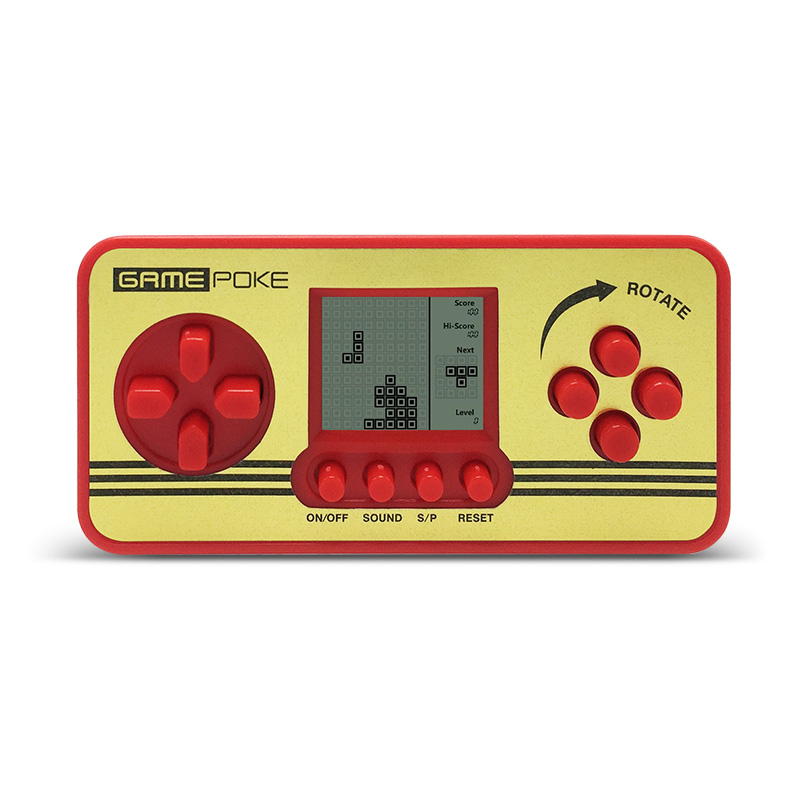 Built-in 23 Games Children Classical Player Portable Tetris Handheld Game Console Tetris ...