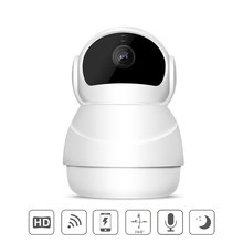 Snowman Shape Home Security 1080P HD CCTV Wireless Surveillance WIFI IP Camera font b Night b