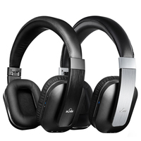 IDeaUSA S204 Wireless Bluetooth Foldable Headphones Noise Reduction Over Ear Headphons With AptX Hands Free Headphones