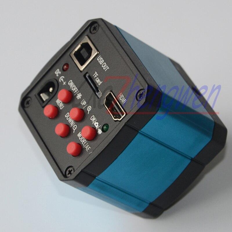 FYSCOPE 14MP HDMI USB Ultra HD L'industrie Vidéo Microscope Caméra TF carte 30fps caméra