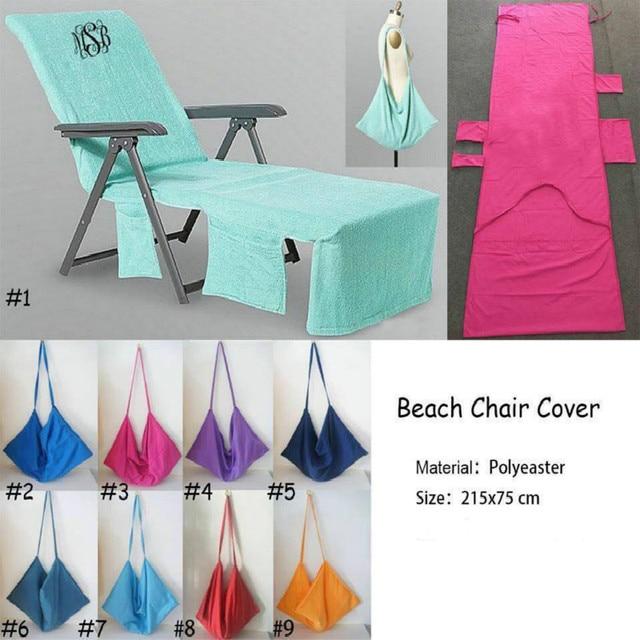 Light Microfiber Sunbath Lounger Quick Dry Chair Beach Towel Portable Garden Towels Moisture Absorption And