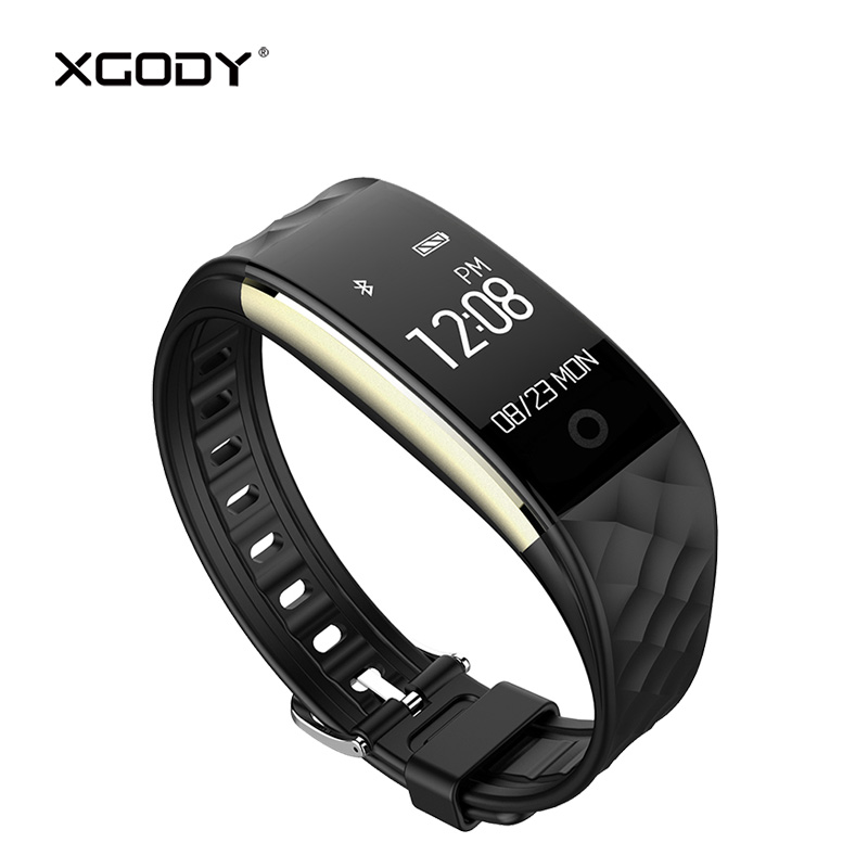 In Stock XGODY S2 Smart Band Pedometer Heart Rate Monitor Smart Bracelet Fitness Tracker ...