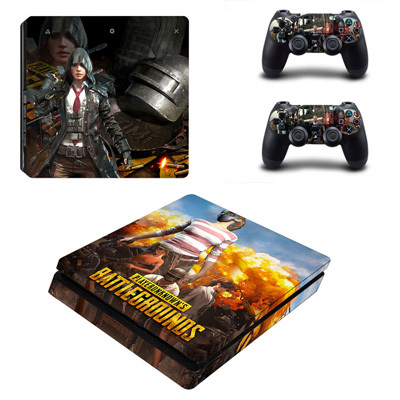 MightySticker® PS4 Designer Skin Game Console System + 2