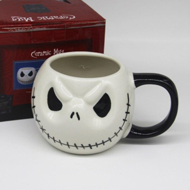 Nightmare Before Christmas Coffee Mug.Us 4 54 9 Off 500ml Skull Drinkware Jack Skellington Coffee Mugs