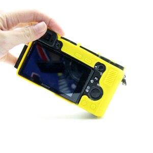 Image 2 - غلاف كاميرا سيليكون ناعم جلد واقي لحقيبة سوني a6500