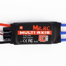 MR.RC 40A Brushless ESC Speed Controller For F450/F550 Multirotor Aircraft 12a 30a 40a brushless esc electrical speed controller for qav250 450 550 f450 f550 rc kvadrokopter quadrocopter blheli