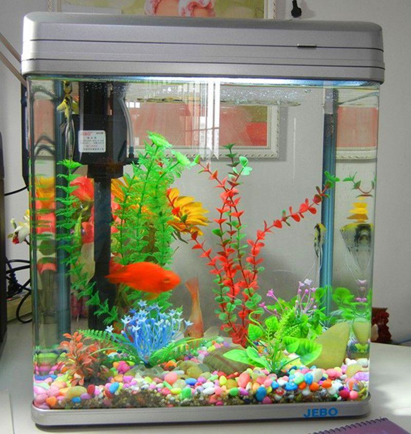 Mini aquarium fish tank aquarium decorative landscaping for Aquarium decoration set