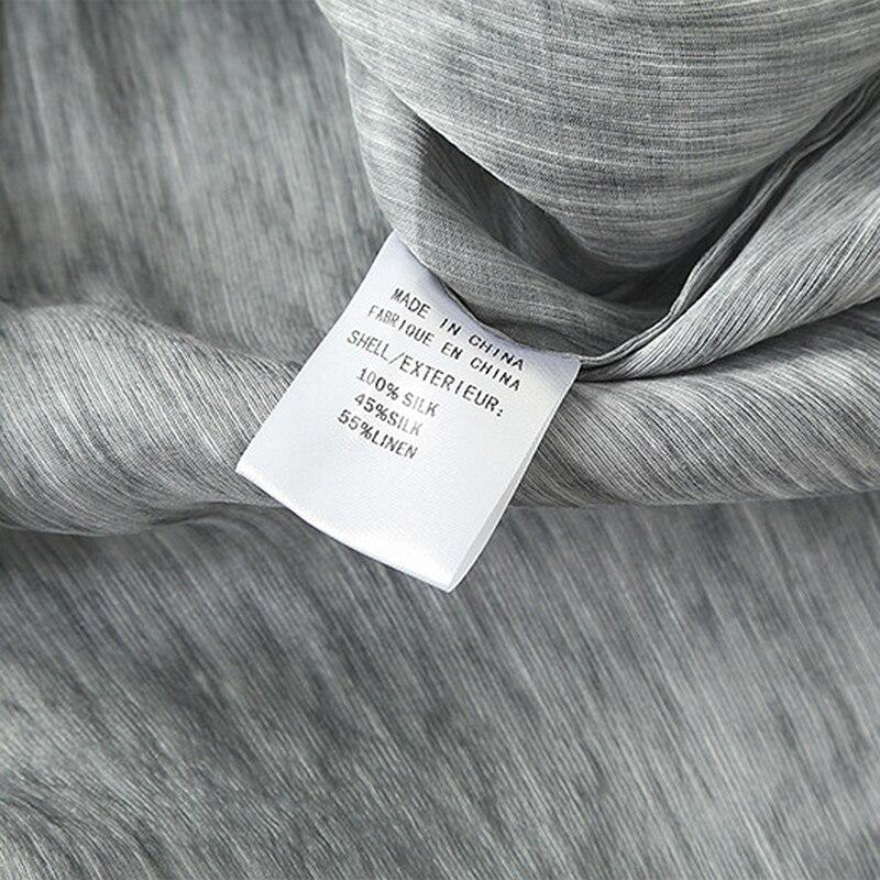 100 Chauve Ceintures Ligne Droite Manches Élégant Conception Style Robe Irrégulière Multi souris Nouvelle Femmes Courte Soie Couture Longue Mode Tissu 2018 8vaw5ZqP