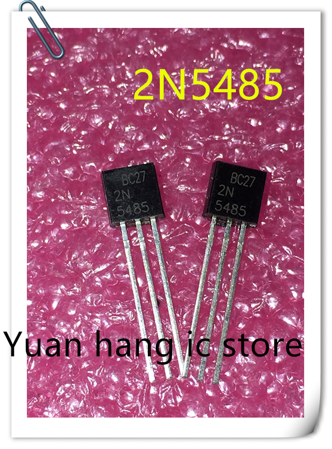 10PCS 5485 TO92 2N5485 TO-92 RF JFET Transistor New Original Free Shipping
