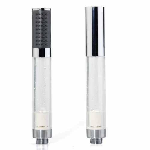 Wysokiej jakości nowy Model rączka prysznica ABS kolor srebrny oświetlenie wiszące led Multicolor
