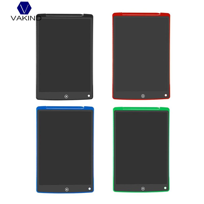 VAKIND 1pcs 12 Inch LCD Writing Tablet Digital Drawing Tablet with Pen Portable Electronic Tablet Board Writing Note Pad цена