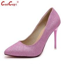 ผู้หญิงกริชชี้นิ้วเท้าบางรองเท้าส้นสูงปั๊มผู้หญิงยี่ห้อเซ็กซี่งานแต่งงานส้นรองเท้าส้นรองเท้าขนาด34-39 Z00214