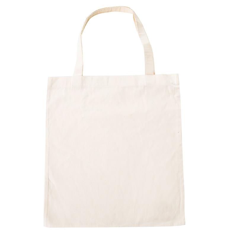 Reusable Cotton Women Men Travel Shopper Tote Storage Shopping Bag Fabric Canvas Cloth Reusable Beach Handbags Printed