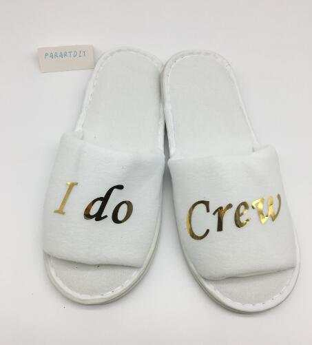 52b673842b4 Online Shop customize name glitter wedding bridesmaid bride spa slippers  Matron of honor Flower Girl Hen Bachelorette party favors gifts