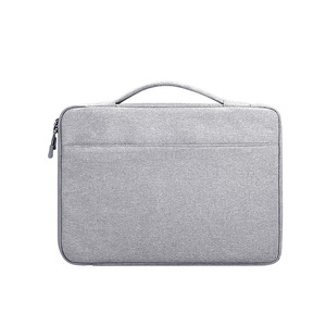 Image 3 - 13.3 14.1 15.6 inch Laptop Case Laptop Handbag Multi functional Notebook Sleeve Carrying Bag for Macbook Samsung Dell HP