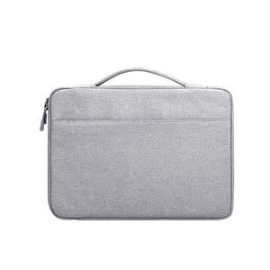 Image 3 - 13,3 14,1 15,6 zoll Laptop Fall Laptop Handtasche Multi funktionale Notebook Sleeve Trage Tasche für Macbook Samsung Dell HP