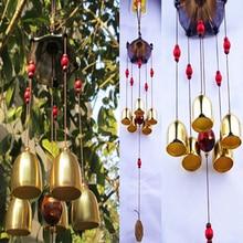 Wind chimes 5 Bells Feng Shui Decor for Yard Garden
