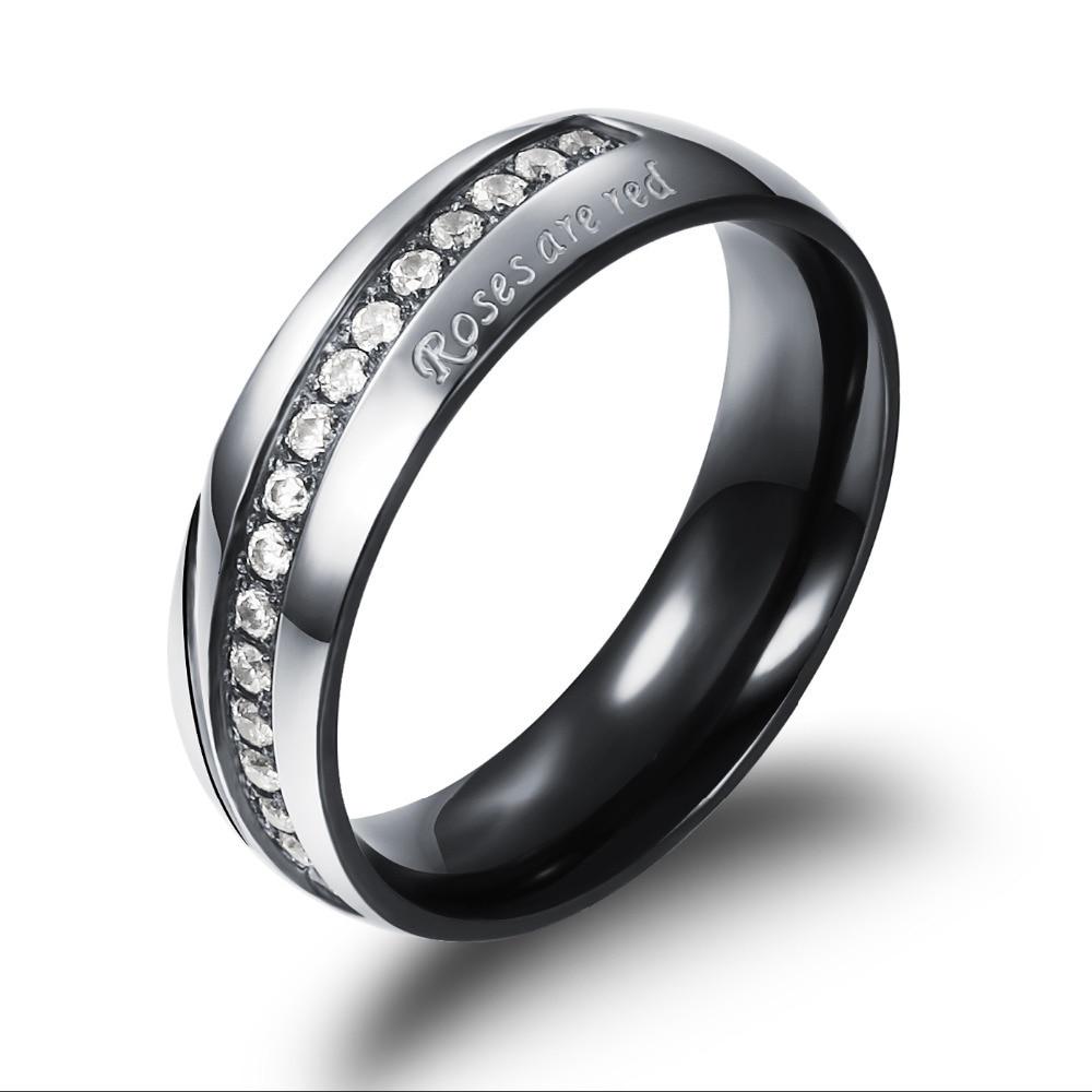 Black Gold Wedding Rings synrgyus