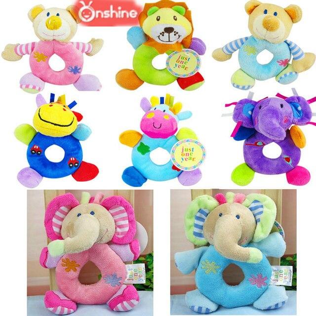 Carrinho de bebê pendurado brinquedo do bebê cama berço berço berço cadeira carrinho de bebê sino de pelúcia do leão de pelúcia urso de balanço 30% off
