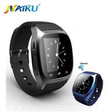 Водонепроницаемый smartwatch m26 bluetooth smart watch with led alitmeter плеера шагомер для android смартфон t30
