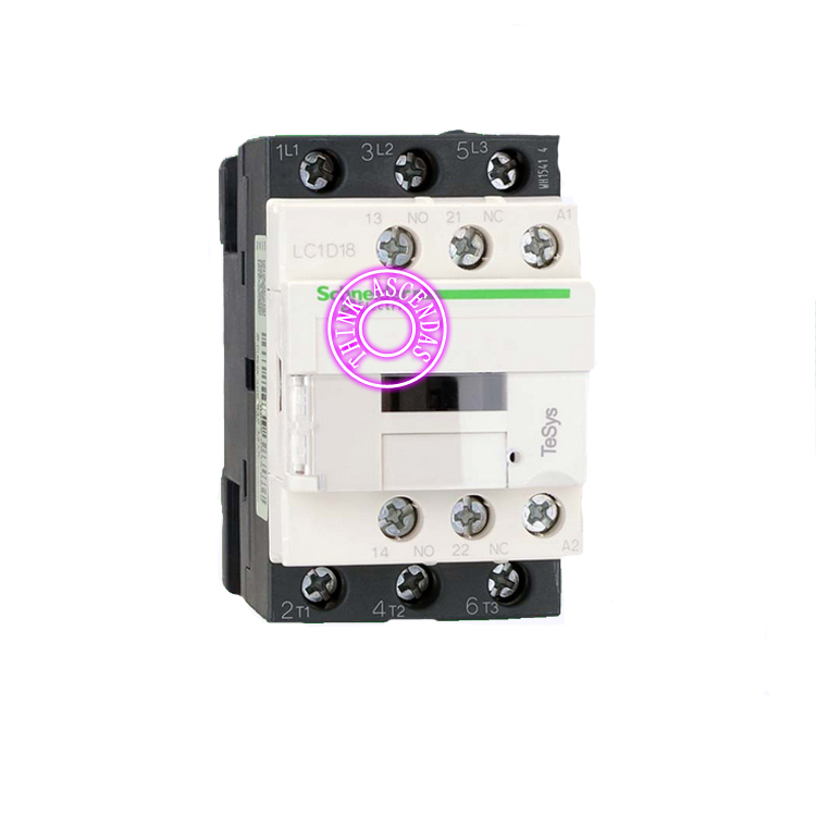 LC1D Series Contactor LC1D18 LC1D18BDC 24V LC1D18CDC 36V LC1D18DDC 96V LC1D18EDC 48V LC1D18FDC 110V LC1D18GDC LC1D18JDC 12V DC sayoon dc 12v contactor czwt150a contactor with switching phase small volume large load capacity long service life