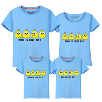 Summer 2017 Short Sleeve Clothes Dress Family Dress Mother And Daughter T Pity Children S Garment
