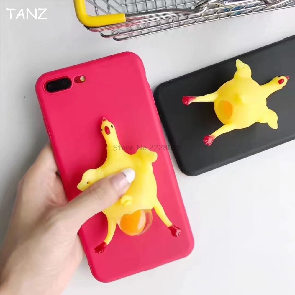 Cover iphone 5 squishy - Aliexpress Com Buy Phone Case For Iphone 7 Plus 6 6s Plus Kawaii Squishy Slow Rising Chick Soft Tpu Phone Cover Case Back Squeeze Cute Stretchy Toy From
