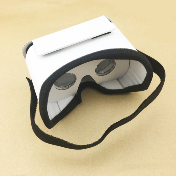 Data Frog DIY Portable Virtual Reality Glasses Google Cardboard 3D Glasses VR Box For SmartPhones For Iphone X 7 8 VR 1