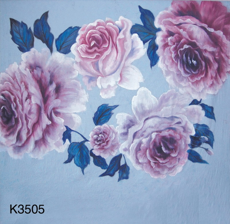 10ft x10ft/3*3m Hand Painted muslin backdrop K3505, flower photo backdrop,wedding background, photography scenic backdrops kate 10ft photo background naturism children photos flores wedding backdrops oil painting garden backdrop kids blue sea backdrop