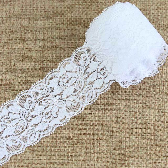 Wonderful 10 Yards White Color Lace Trimmings Decoration Crafts
