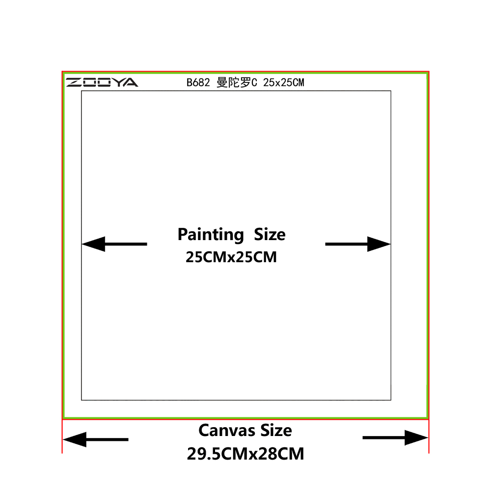 ZOOYA diamond painting skull Love pictures crystal Diamond embroidery mosaic Cartoon full square layout DIY Art paintings M0059 in Diamond Painting Cross Stitch from Home Garden