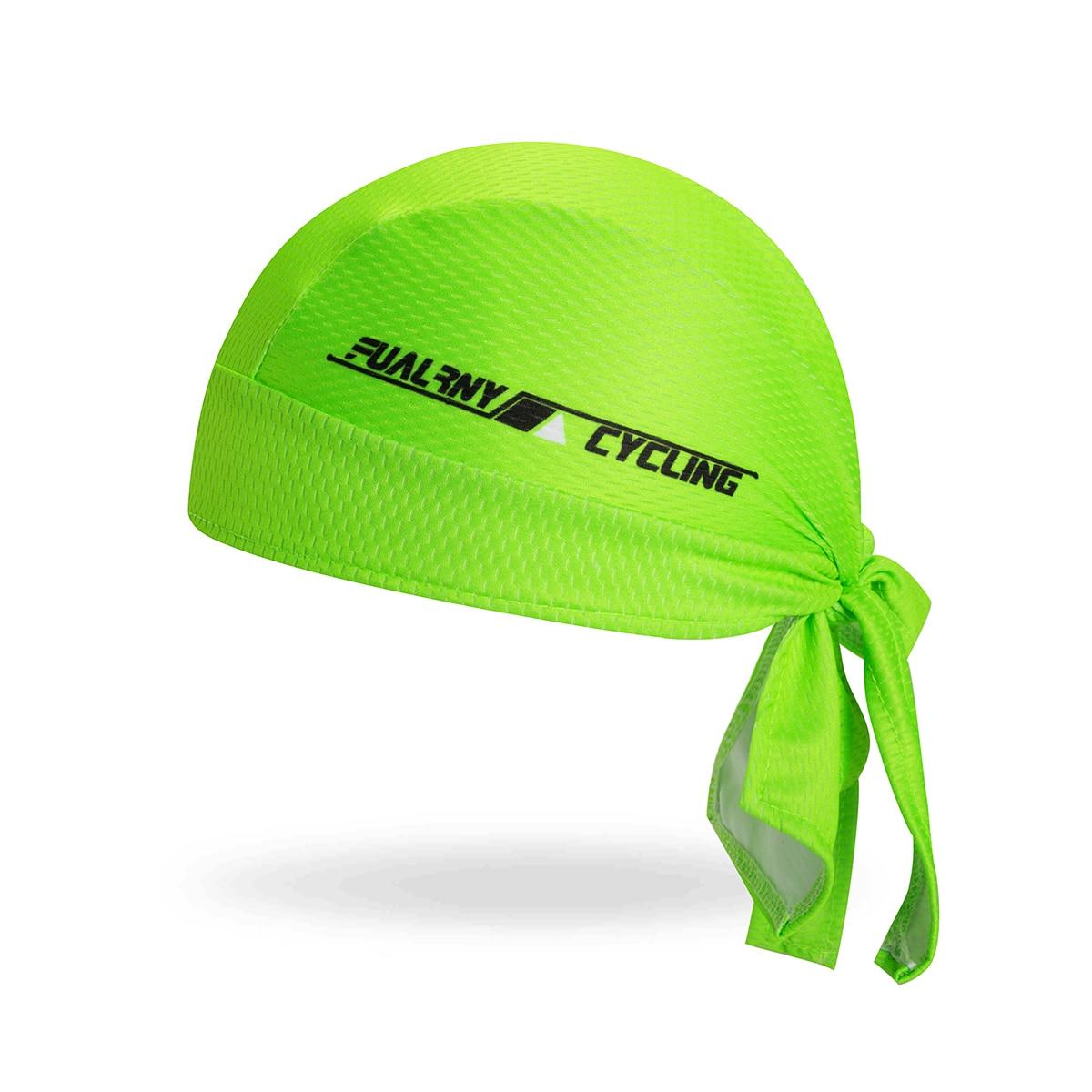 Fualrny 100% Polyester Modesti Outdoor Sport MTB Bicycle Bandana Hat Cycling Cap Pirate Head Scarf Headband Bike Headwear