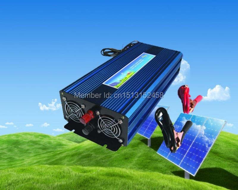 цена на 3000W 6000W peak DC 12V to AC 220/230/240V Off Grid Pure Sine wave Solar inverter 3000 watt power inverter Digital Display