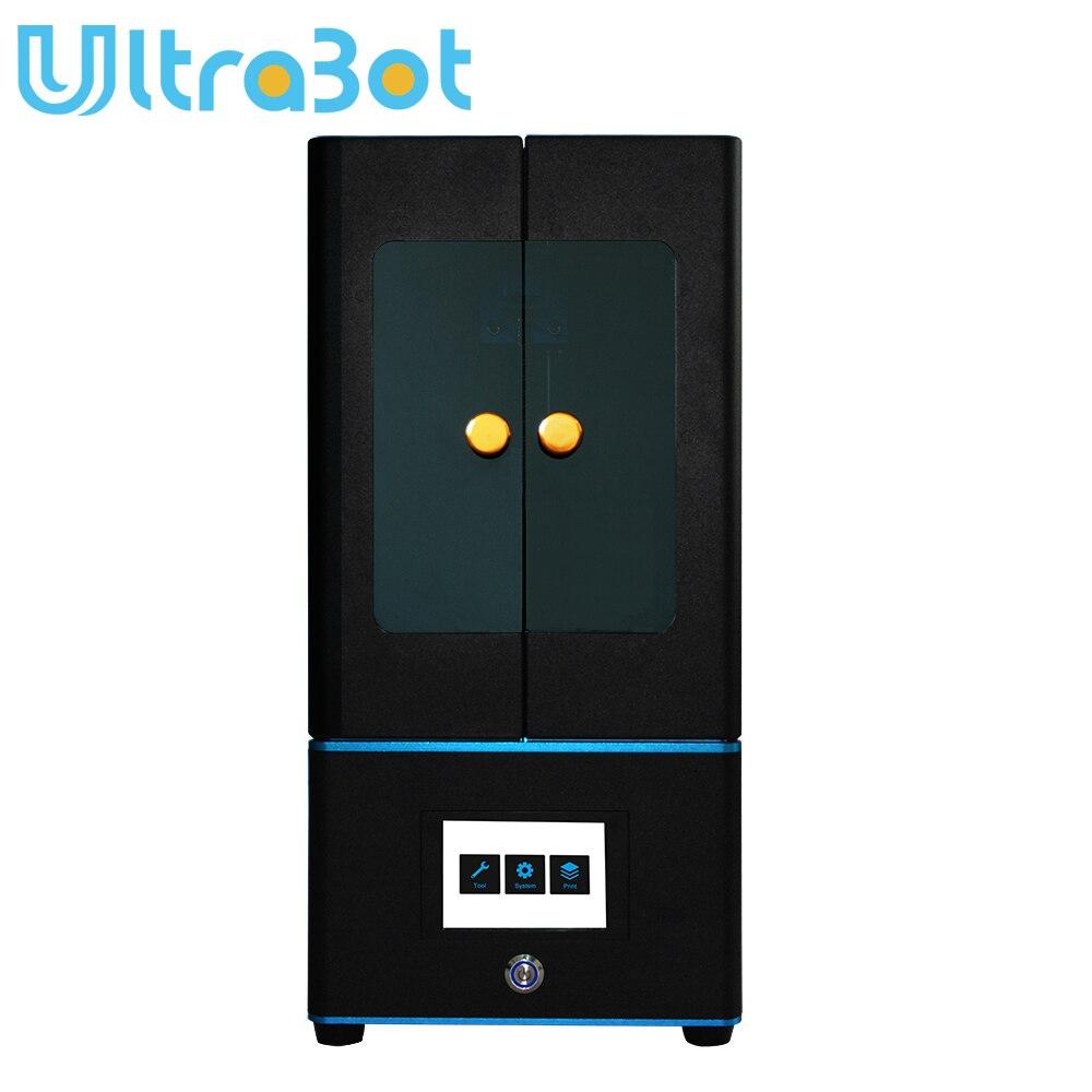 Tronxy ultrabot 3D imprimante Kit tactile LCD écran UV-LED ultime tranche vitesse grande taille bureau SLA 3d imprimante Uv résine 3D Drucker