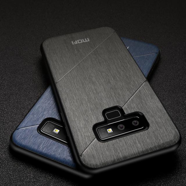 MOFi Galaxy Note 9 Brushed Design Shockproof Back Case Cover