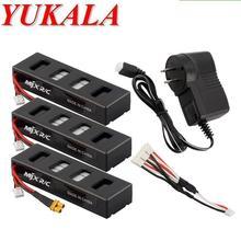 YUKALA B3 RC quadcopter RC font b drone b font 7 4V 1800mAh Li polymer battery