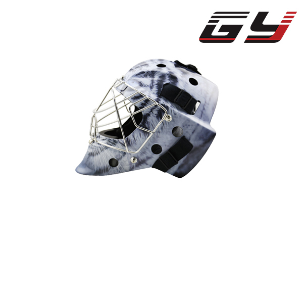 Professional Goalie Mask Carbon Fiber Ice Hockey Goalie Helmet Cool Style Goalkeeper Equipment goalie mask hockey goalie helmet for goalikeeper free shipping