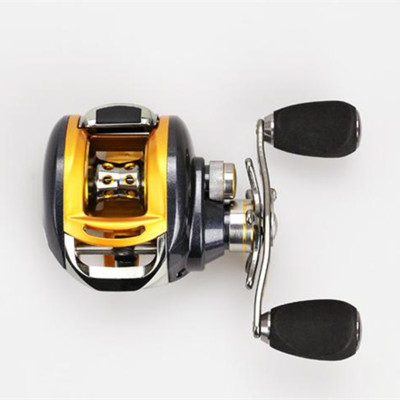 FREE SHIPPING A0OC Bait casting low profile water drop wheel flat EVA Knob CENTRIFUGAL Braking system LIGHTWEIGHT DESIGN