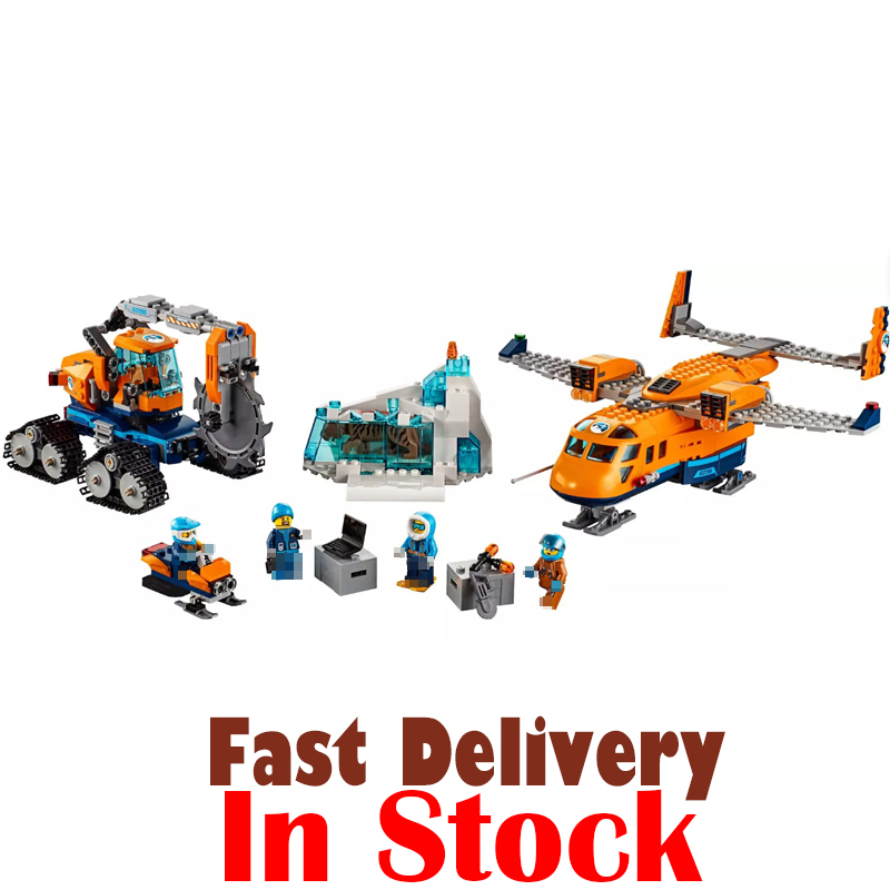 Lepin City 02112 791pcs Arctic Supply Plane compatible Legoing 60196 Plane Building Blocks Educational toys for children gifts lepin 02112 new city series the arctic supply plane set 60196 building blocks bricks legoinglys toys model boy christmas gifts