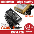MDPOWER For Acer ACER 19V 3.42A 65W Laptop Power AC Adapter Charger Cord