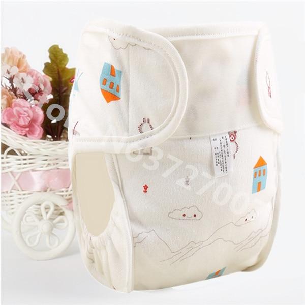 Хлопковые детские подгузники, подгузники, многоразовые стираемые тканевые подгузники, непромокаемые подгузники для новорожденных, трусики для тренировок, подгузники с карманами - Цвет: Panda