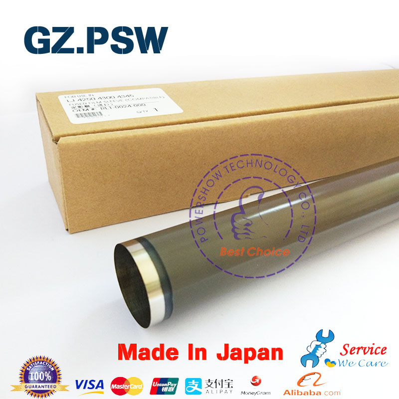 5X Import New Fuser Film Sleeve Teflon RL1 0024 L1 0024 000 RM1 1083 RM1 1044 For HP 4250 4350 M4345 4300 HP4250 HP4300 HP4350-in Printer Parts from Computer & Office    1