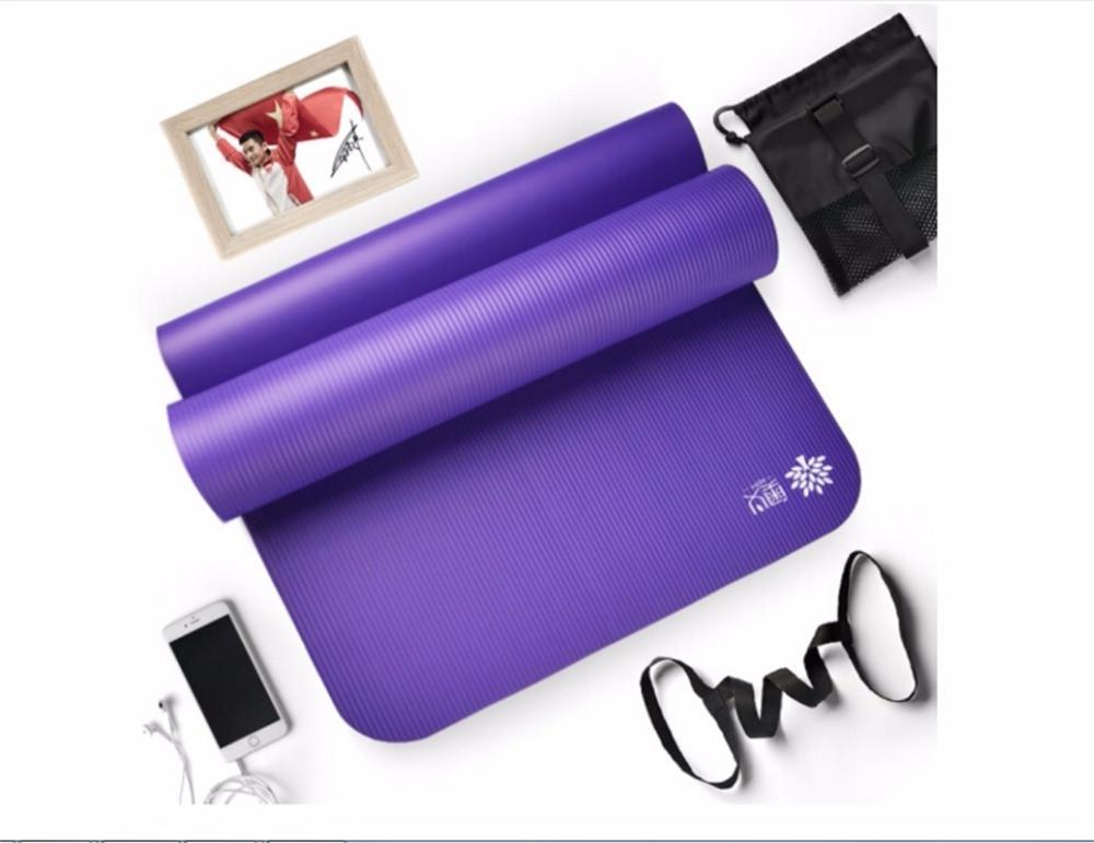Yoga Mats 4 Colors Men Women Utility Exercise Yoga Mat Non slip Thickness Pad Foldable Pilates