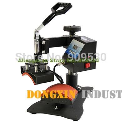 Hat sublimation heat press machine DX-0901 hat printing machine with multicolor