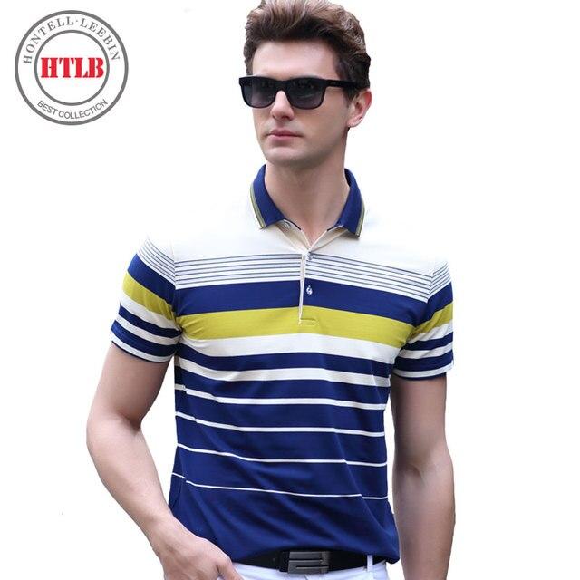 HTLB 2017 Camisa Nova Marca Polo Estilo Americano de Manga Curta Business  Casual Camisa Dos Homens 2e8c8c79a0bd3