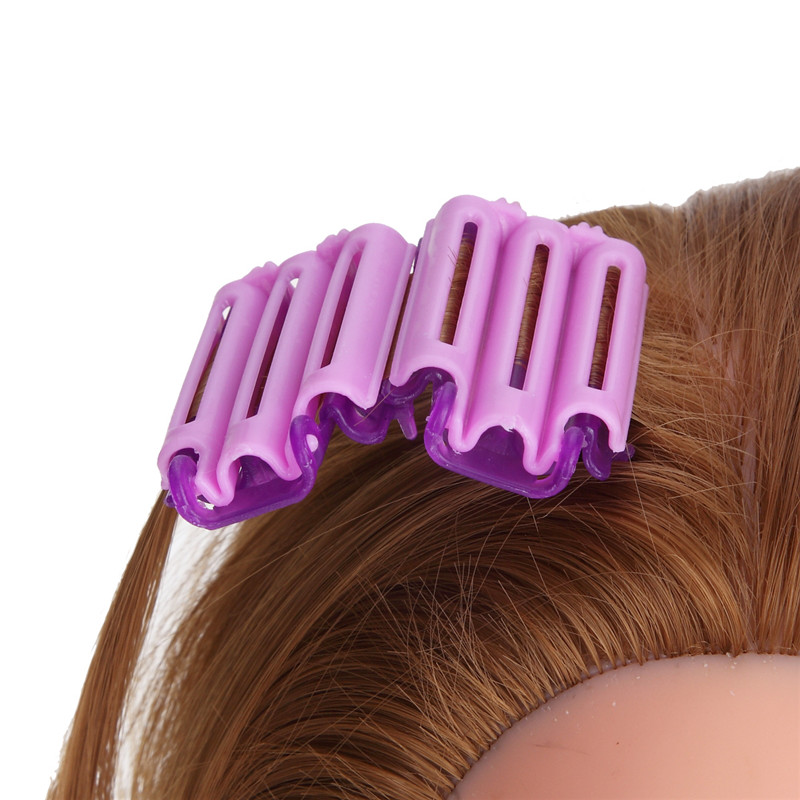 45Pcs/Pack Hot Sale Magic Hair Clip Hairdressing Styling Wave Perm Rod Corn Curler Make DIY Tool For Womens Beauty Hair styling