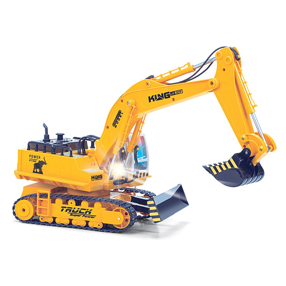 aliexpress com buy 11 channel rc excavator advanced remote